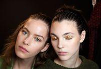 Le maquillage doré en 25 déclinaisons lumineuses