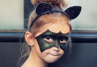 10 maquillages d'Halloween pour enfants, adorables ou terrifiants