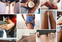 15 tatouages sur la cuisse qui nous font de belles jambes