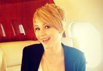 Jennifer Lawrence, téméraire jusque dans sa coiffure