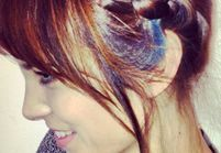 Rainbow hair : Alexa Chung passe aux mèches multicolores