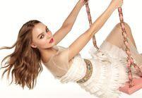 Lily-Rose Depp sublime égérie du tout nouveau Rouge Coco Lip Blush de Chanel