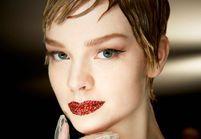 Comment adopter la bouche strassée du défilé Dior haute couture ?