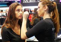 Notre cours de maquillage avec les futurs tops Elite