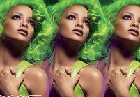 Rihanna ose les cheveux verts pour lutter contre le sida