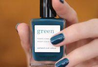 #ELLEBeautyCrush : Manucurist, les vernis green qui nous font envie