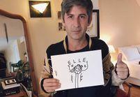 André x Jean Paul Gaultier : l'artiste croque la femme ELLE pour nous