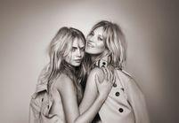 Cara Delevingne et Kate Moss, réunies pour l'eau de toilette My Burberry