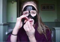#CharcoalMask : voici le masque visage qui fait pleurer les youtubeuses du monde entier