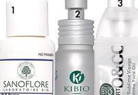 Les huiles bio pour le visage