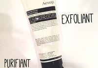 On aime : la pâte exfoliante d'Aesop