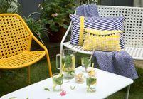 Meubles de jardin design : les nouveautés Fermob