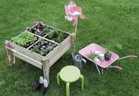 Quand le jardinage devient un jeu d'enfant !