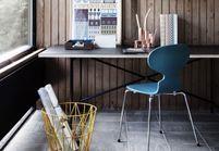 La chaise Fourmi, l'icône des intérieurs scandinaves