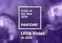 L'Ultra violet, la couleur de 2018 par Pantone qui nous laisse perplexe