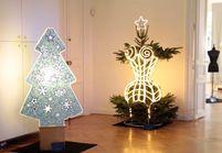 Les sapins de Noël vus par les créateurs !