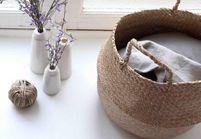 Leçon de déco : 5 façons d'utiliser le panier dans son intérieur