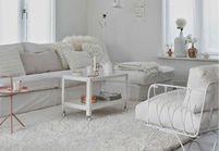 Grande tendance déco : le blanc du sol au plafond