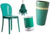 Shopping : du vert émeraude dans la déco