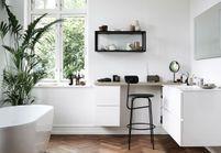 La salle de bains blanche, un basique facile à décorer