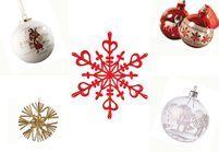 40 boules de Noël traditionnelles