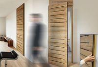 L'inspiration du jour : une porte sans poignées