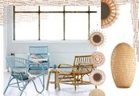 Rotin, osier, ... : farandole de meubles naturels
