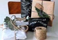 DIY : des paquets cadeaux d'inspiration végétale