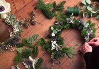 DIY : réalisez une couronne de Noël chic et tendance