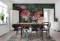 Papier peint fleuri : 25 modèles pour un intérieur so bucolique !