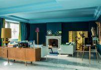 Sympa l'appartement bleu et vert de Stella Cadente !