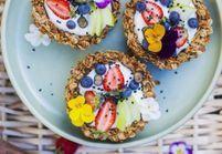 La tarte granola au petit-déj : on ne s'en lassera pas !