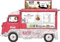 Le food truck Clarins, sur la route de la beauté