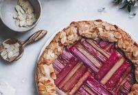 La tarte à la rhubarbe, le dessert géométrique façon Instagram