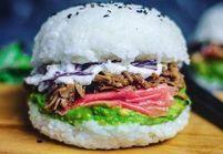 Le sushi burger fait craquer les fit girls