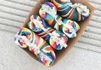 #Unicornbagel : le nouveau bagel multicolore qui nous en met plein les yeux