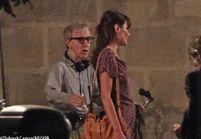 Carla Bruni a tourné hier à Paris avec Woody Allen