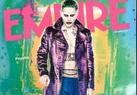 Jared Leto surprenant dans la peau du Joker en couverture d'Empire
