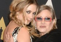 L'hommage de Billie Lourd à sa mère Carrie Fisher