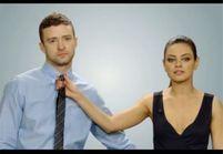 Mila Kunis et Justin Timberlake, des sexfriends plein d'humour