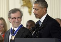 Steven Spielberg honoré par Barack Obama
