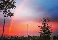 Cet arc-en-ciel rose est la plus jolie chose que vous verrez aujourd'hui