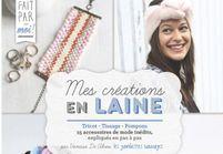 On se remet au DIY avec le livre « Mes créations en laine : tricot, tissage et pompons » par Vanessa de Abreu