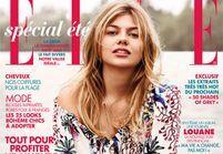 Louane Emera en couverture du magazine ELLE