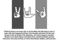 #PrêtàLiker : le message de paix des Eagles of Death Metal