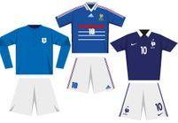 Coupe du monde de football : le maillot des Bleus depuis 1930