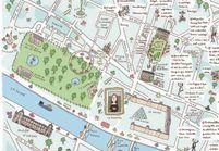 #FollowmetoParis : découvrez la carte Instagram des lieux parisiens les plus cool