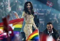 La travestie Conchita remporte le concours de l'Eurovision