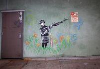 Le street-artist Banksy est-il à Paris ?