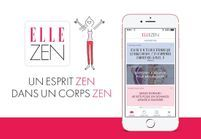 « ELLE Zen » la nouvelle application de ELLE qui fait du bien